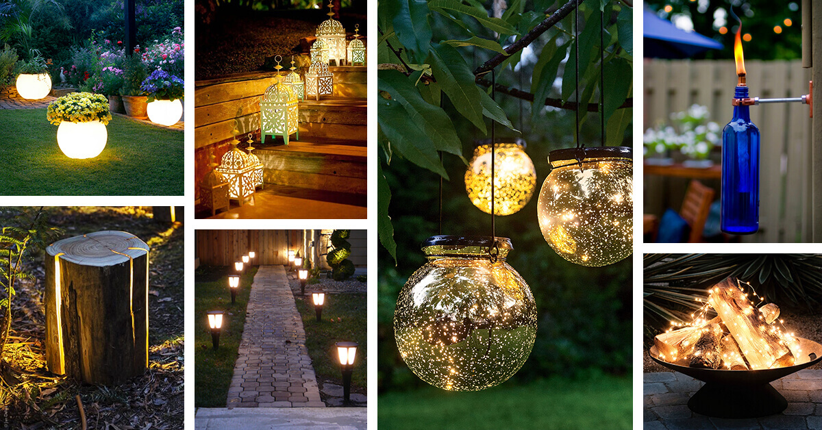 40 best backyard lighting ideas and