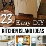 23 Best Diy Kitchen Island Ideas And Designs For 2019