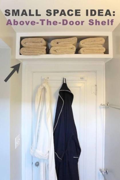 Over-the-Door Storage Shelf