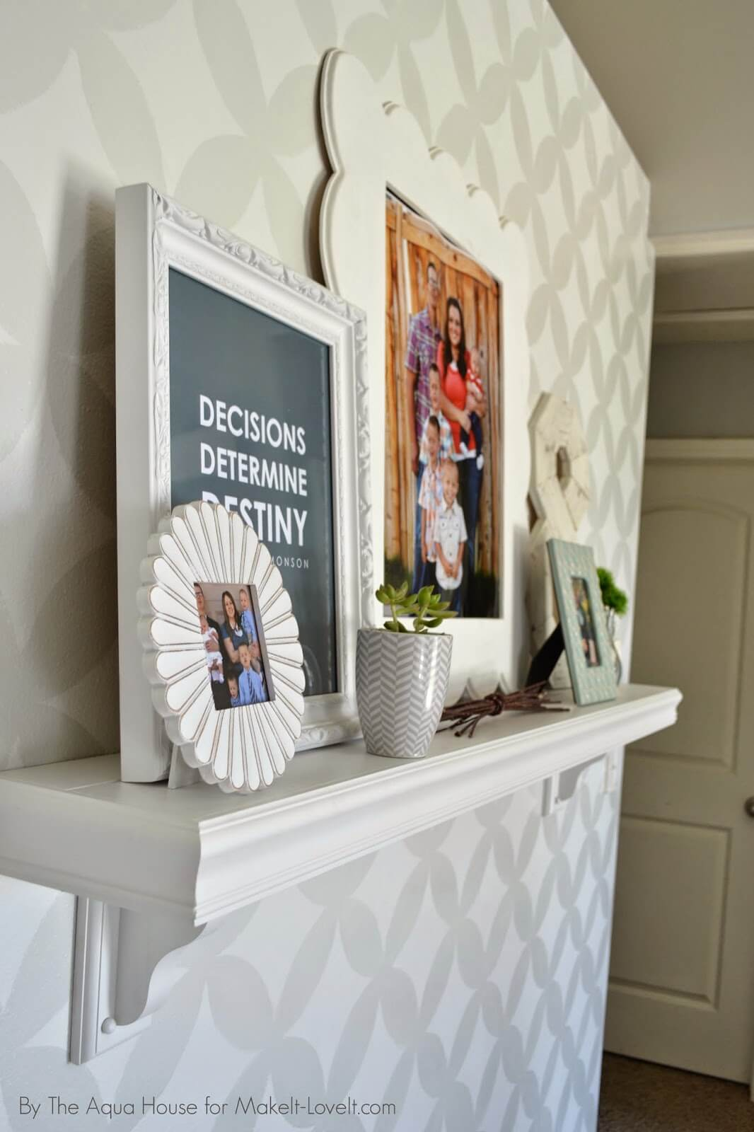 18 Best Mantel Shelf Ideas Without A Fireplace For 2019
