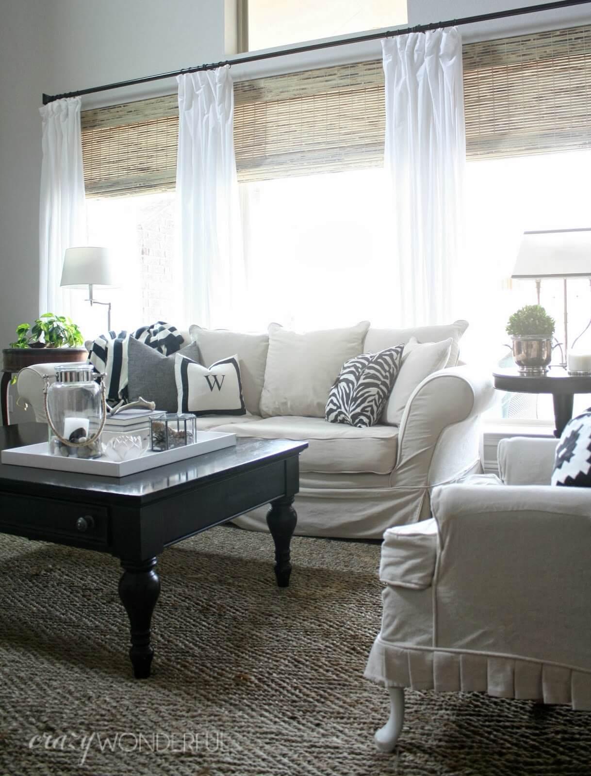 Curtain Ideas For Small Living Room Novocom Top