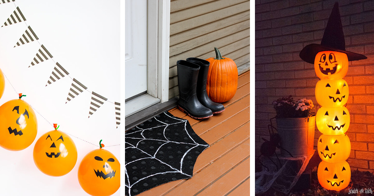 13 Best Diy Dollar Store Halloween Decoration Ideas And Designs For 2020