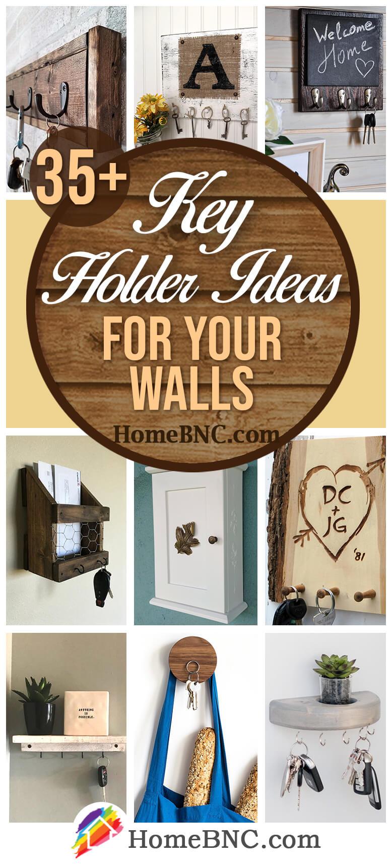 35 best key holder ideas and designs