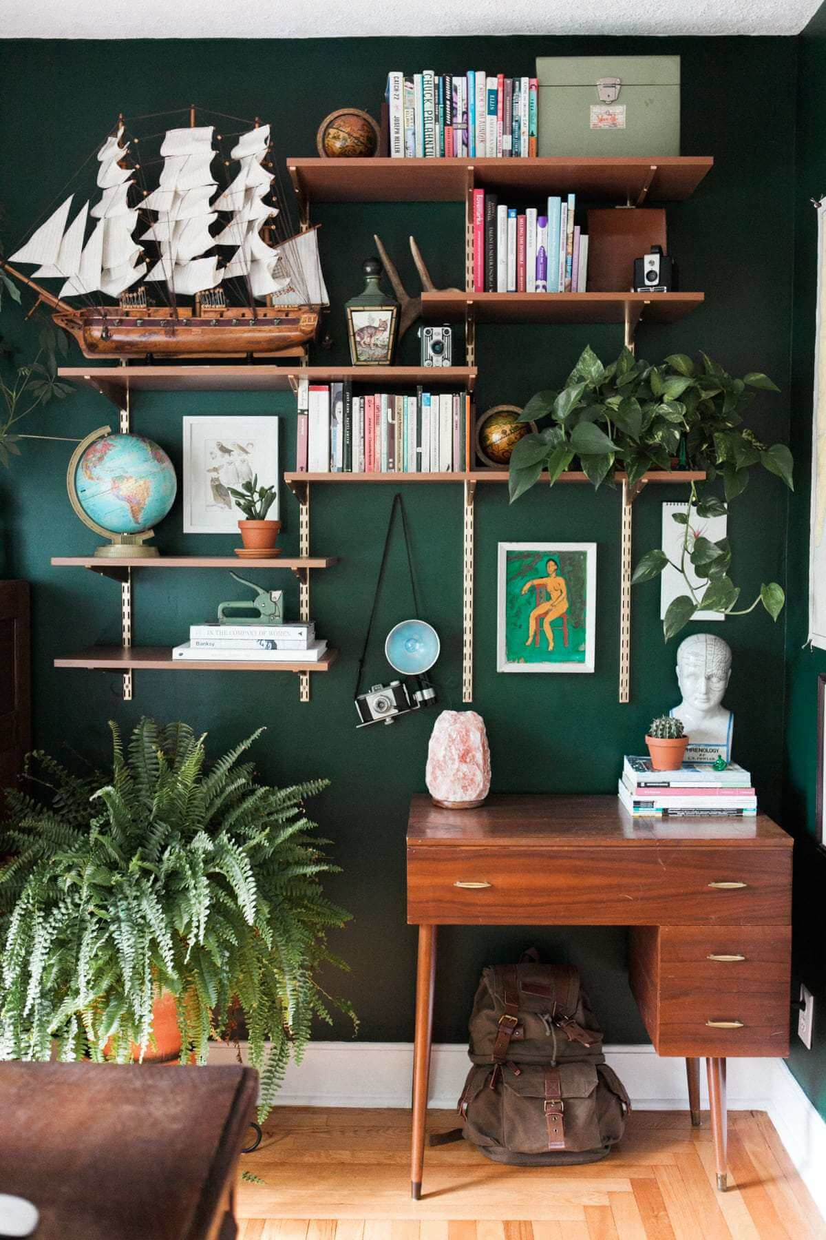 On Style Today 2020 09 24 Captivating Living Room Green Walls Here