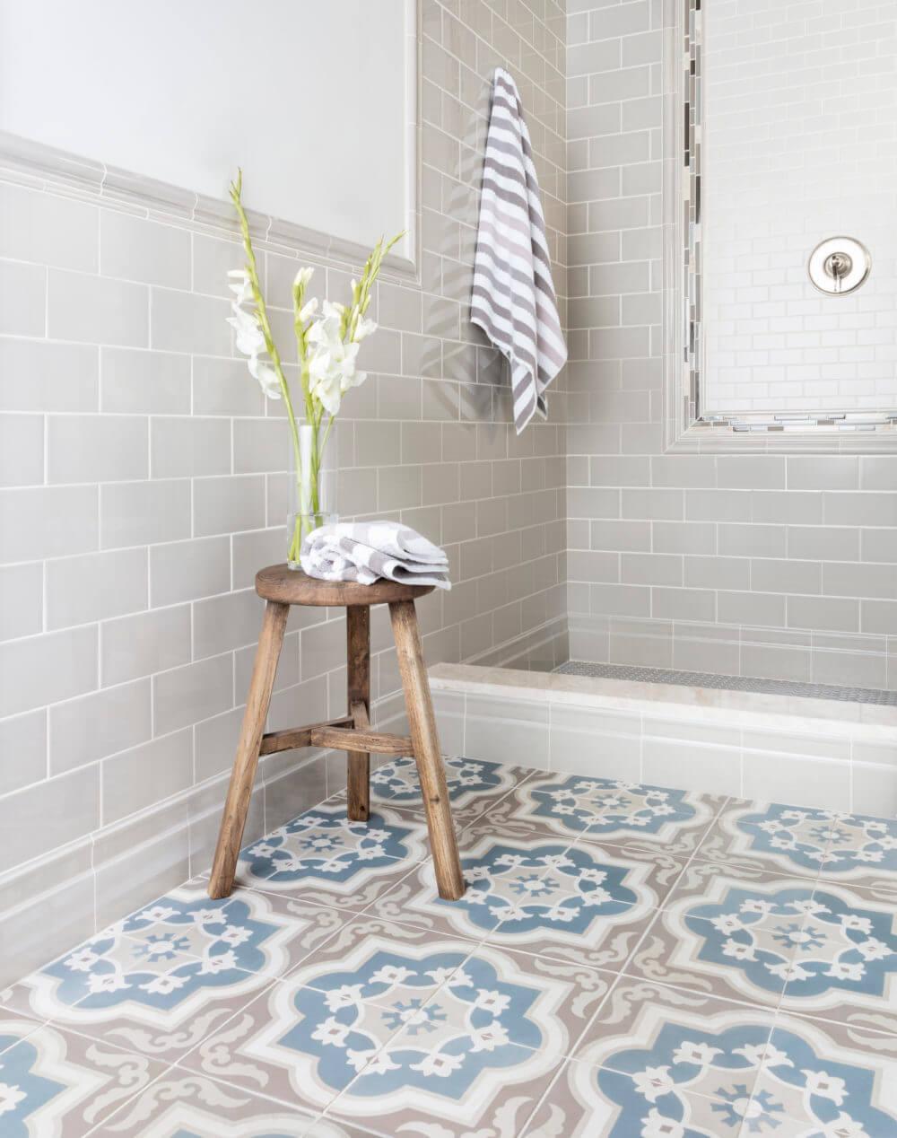 18 best bathroom flooring ideas and