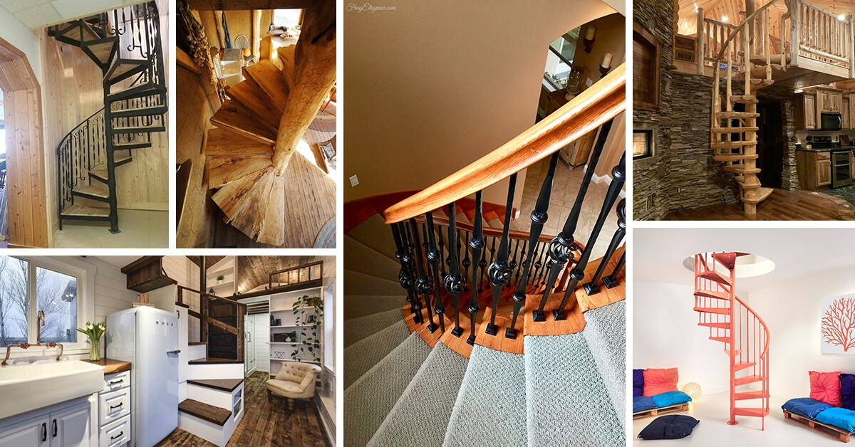 16 Best Spiral Staircase Ideas And Designs For 2020 | Flexible Handrail For Spiral Staircase | Staircase Ideas | Stair Kit | Loft Stairs | Stair Parts | Modern Staircase