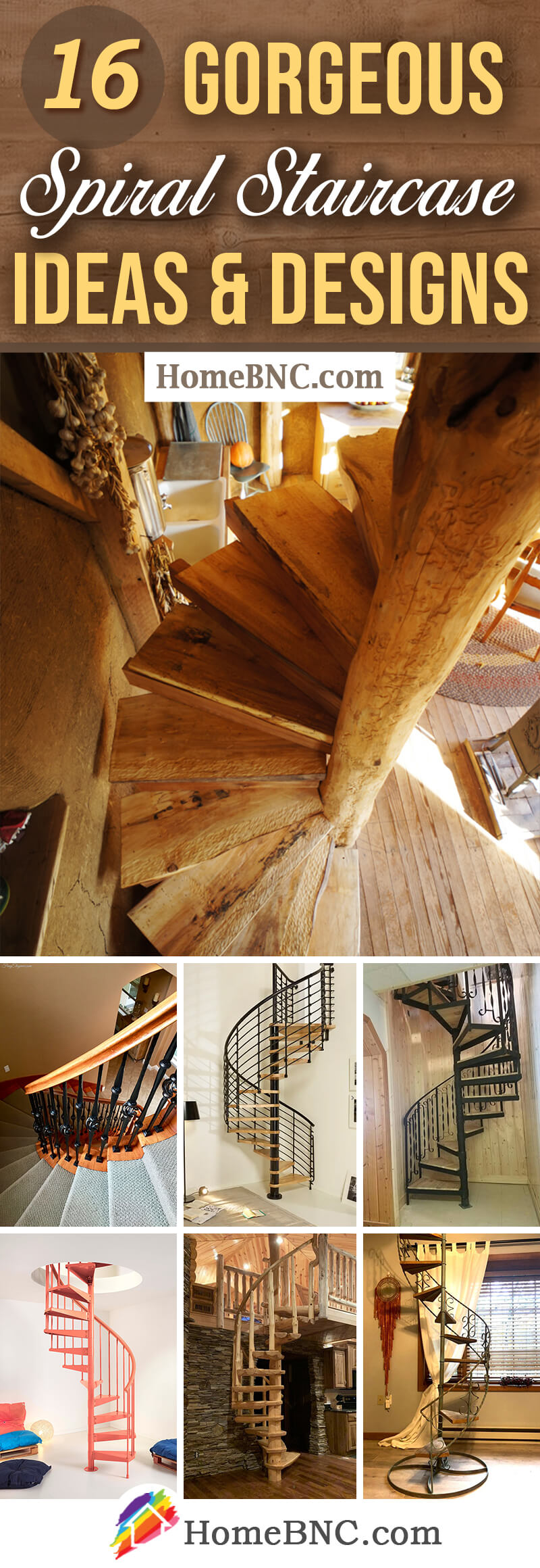 16 Best Spiral Staircase Ideas And Designs For 2019