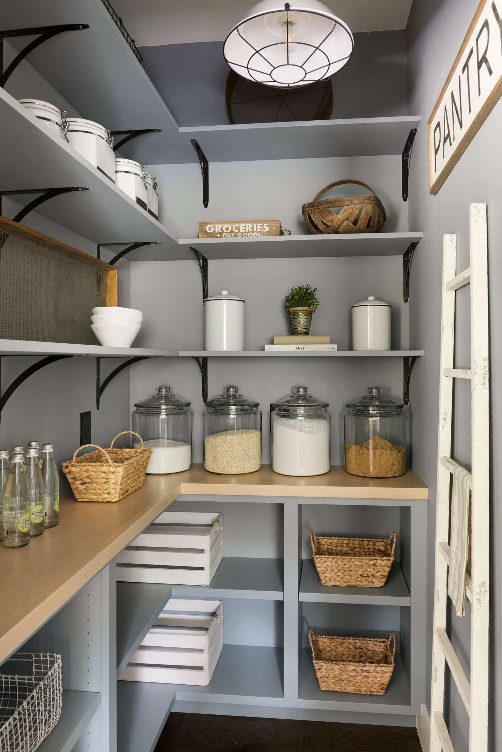 24 Best Pantry Shelving Ideas And Designs For 2019