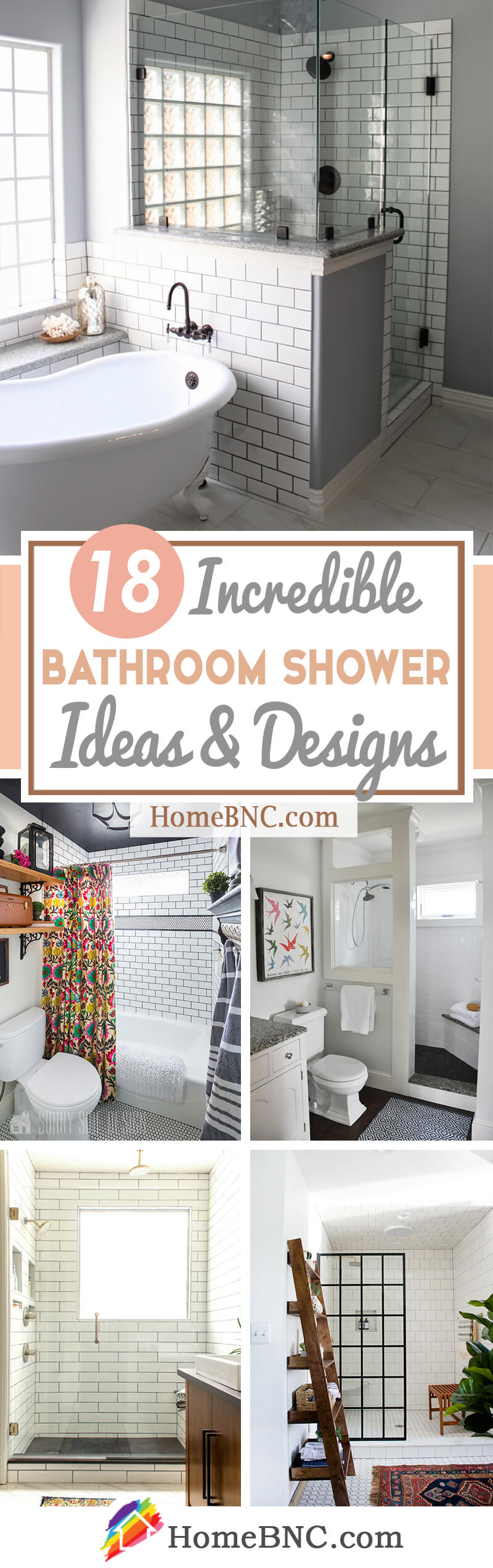 18 Best Bathroom Shower Ideas To Inspire Your Renovation In 2019