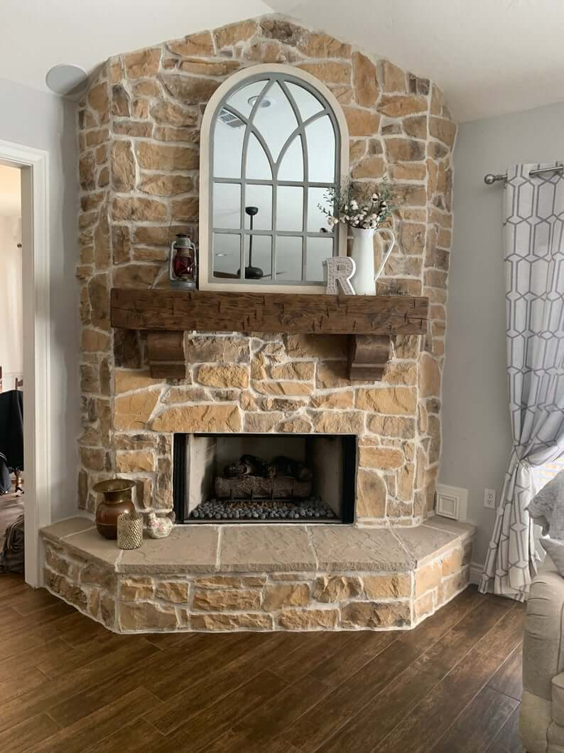 16 Best Diy Corner Fireplace Ideas For A Cozy Living Room In