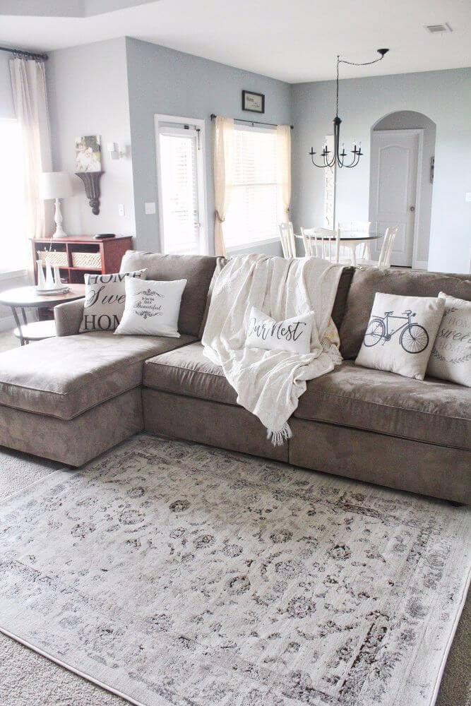 40+ Best Rustic Chic Living Room Ideas and Designs for 2021