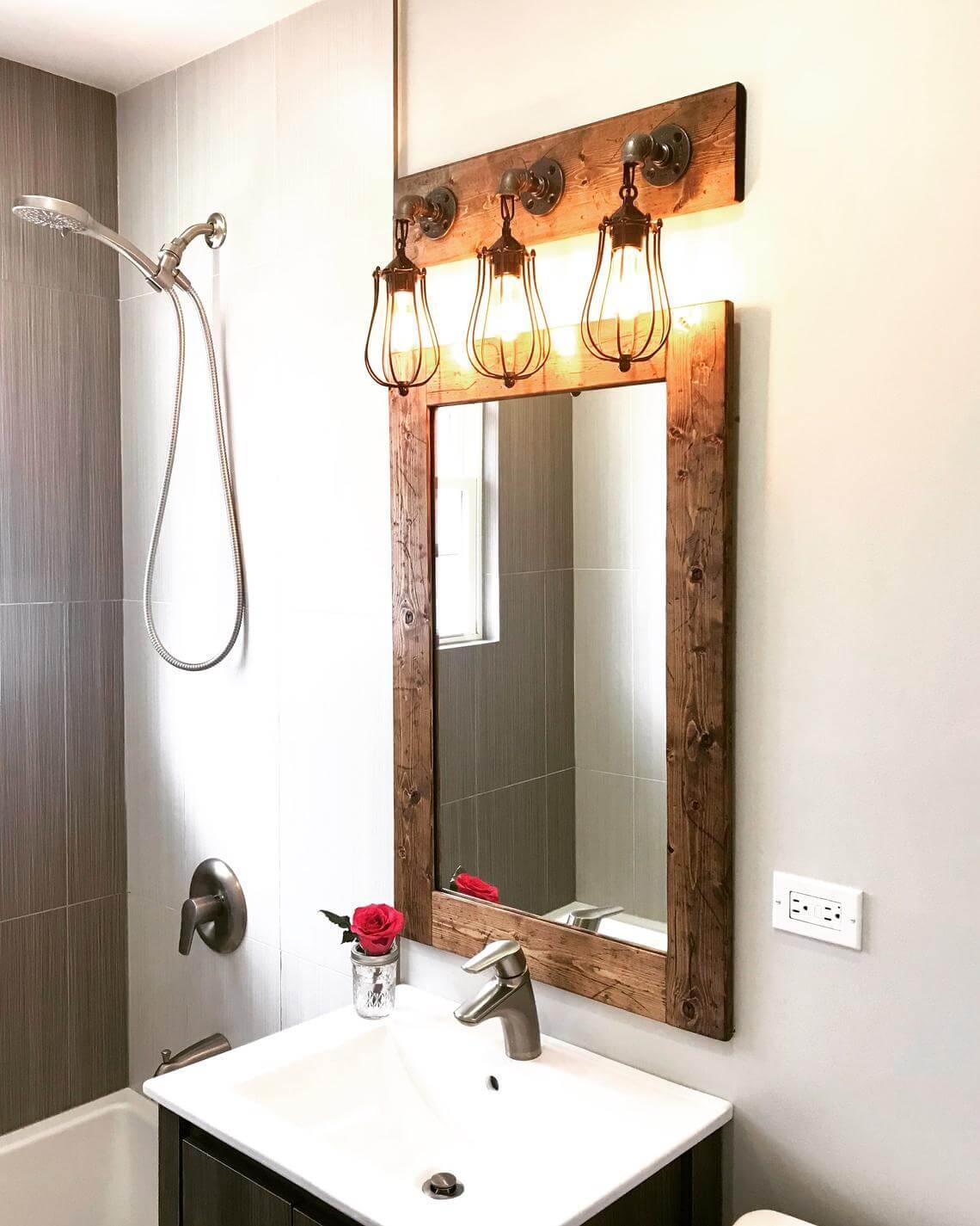 40 best farmhouse mirror ideas and