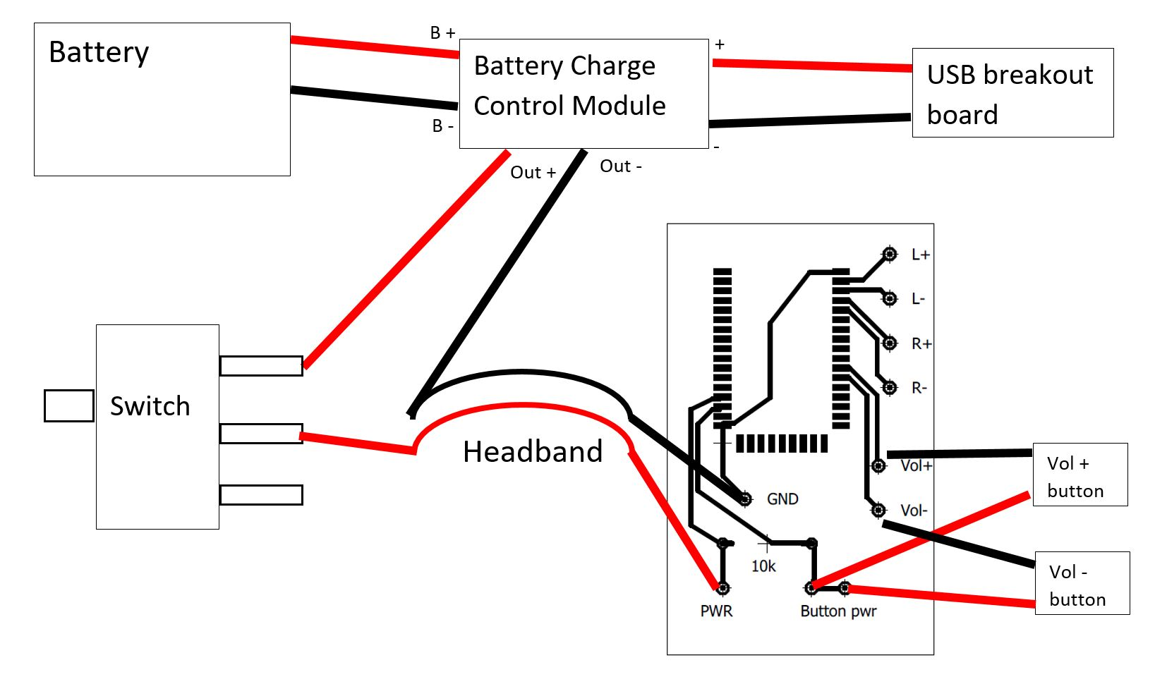 Second Bluetooth 3d Printed Headphone Prototype Homebrew Headphones