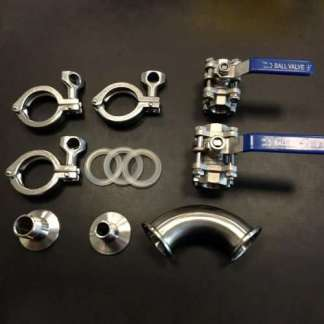 Quick Disconnects Camlock & Tri-Clamp Fittings