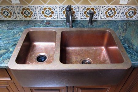 Before You Buy An Apron Front Sink  Here Are The Pros   Cons Of     double basin copper farmhouse sink