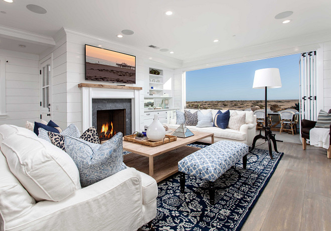 Cape Cod Inspired Beach Cottage