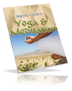 Beginner's Guide to Yoga and Meditation Cover