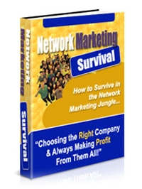 Surviving Network Marketing Jungle Cover
