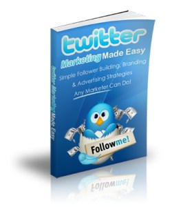 Twitter Marketing Made Easy Cover
