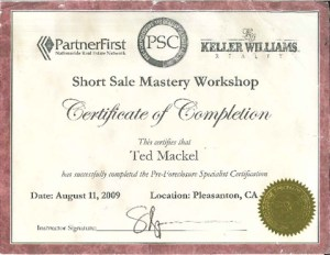 Short Sale Training