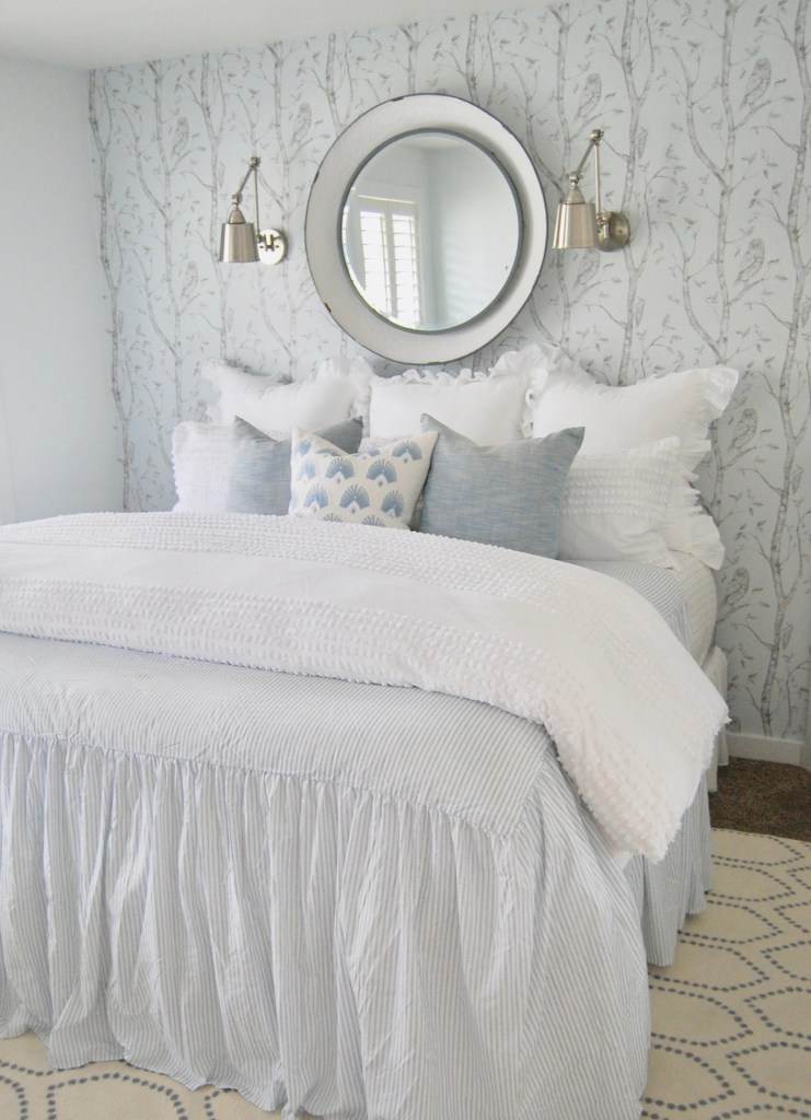 MASTER BEDROOM & REMOVABLE WALLPAPER Top Interior Bloggers In 2019