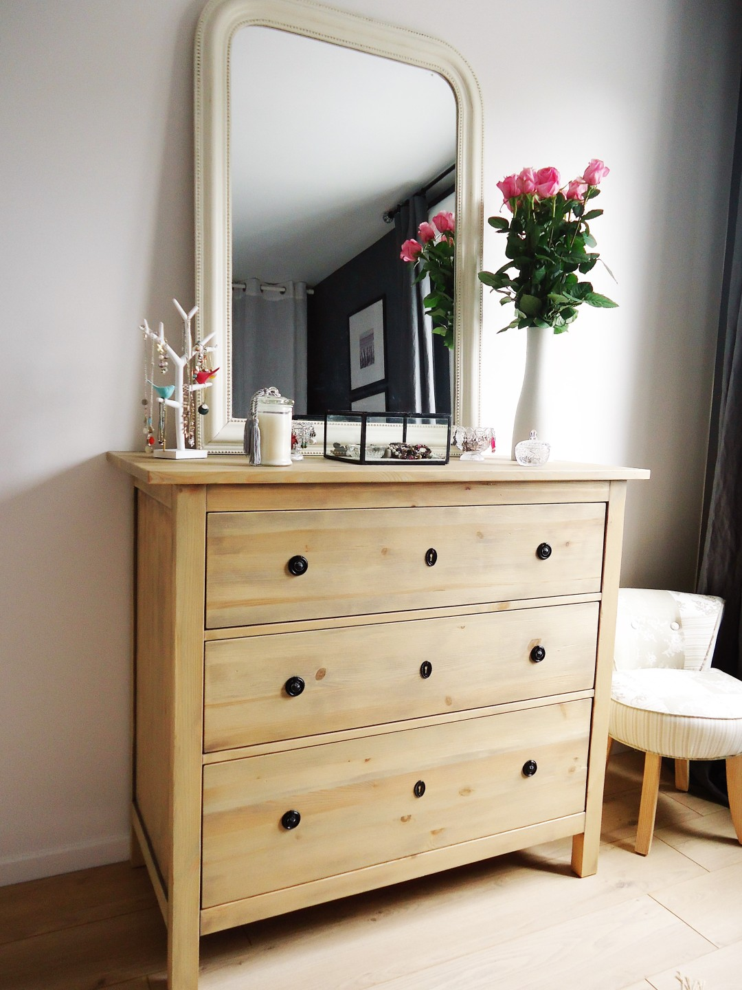 Une Nouvelle Finition Pour Ma Commode Ikea Home By Marie