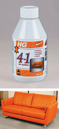 HG Hagesan 4 in 1 For Leather