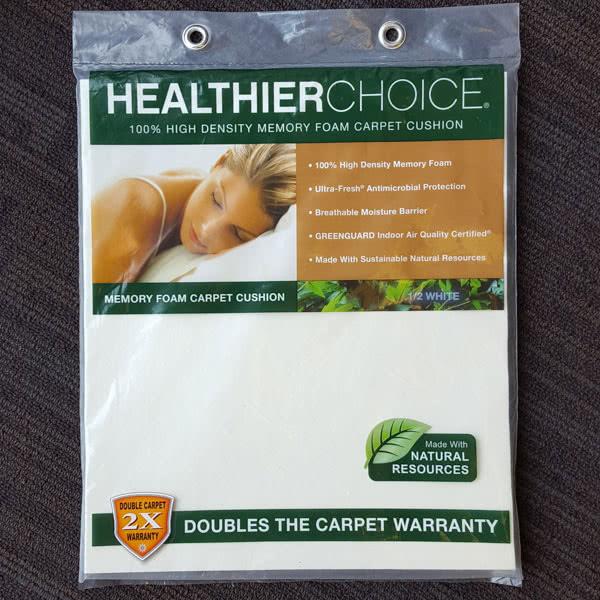 Charming Healthier Living Carpet Pad Www Stkittsvilla Com