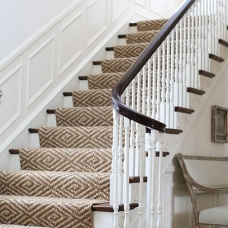 Stair Runners Home Carpet One Chicago | Rug Runners For Steps | Design | Pattern | Black | Hallway | Animal Print