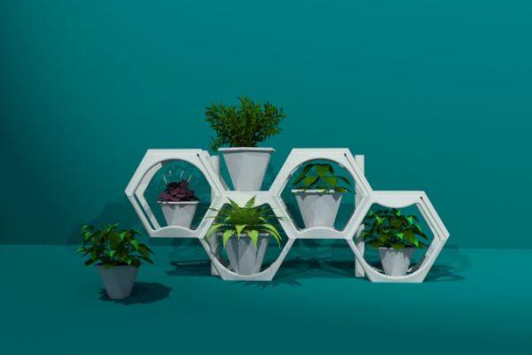Green Stacks  (2)