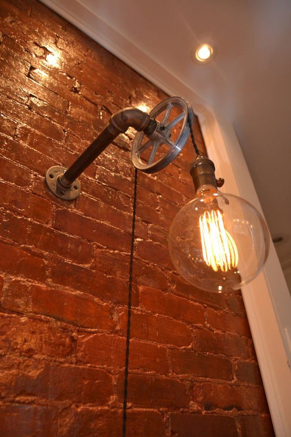 West Ninth Vintage wall light (1)