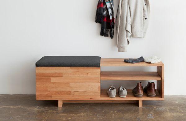 Modern Entryway bench
