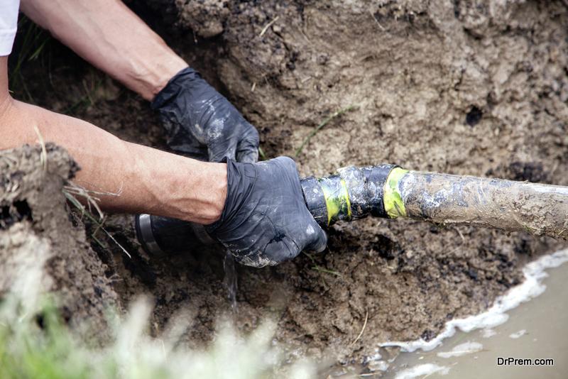 Repairing a Broken Pipe