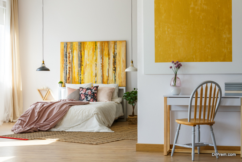 Modern wall art ideas for the bedroom