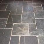 slate tile floor