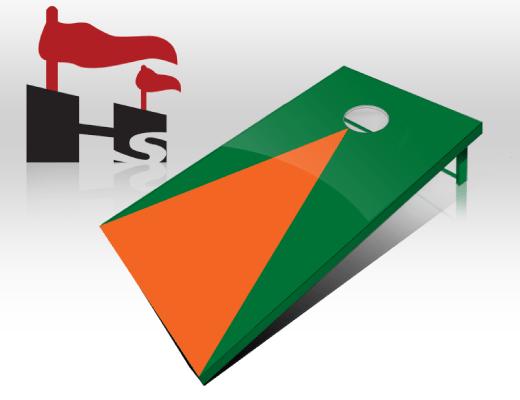 Custom Cornhole Board