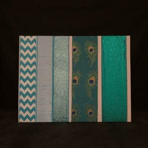 3 - Turquoise Ribbons