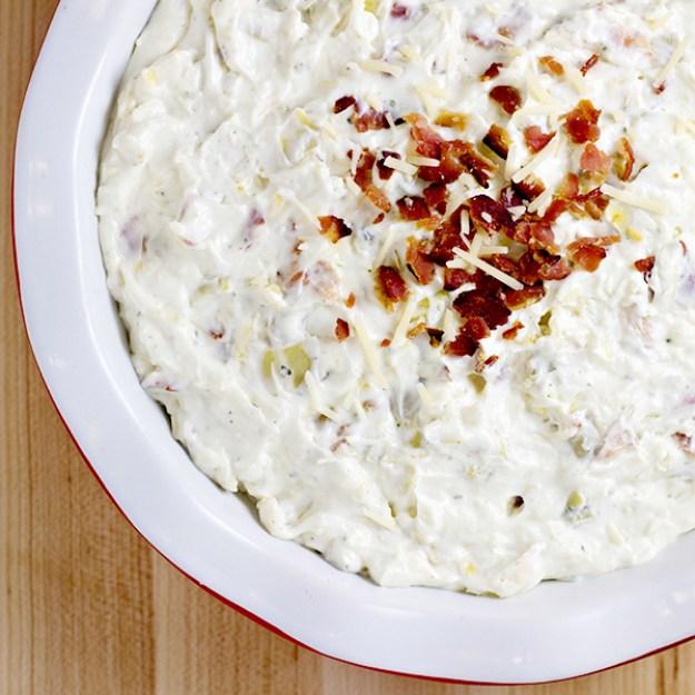 Artichoke & Bacon Ranch Dip Recipe