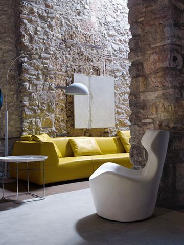 B&B Italia Flickr - Piccola Papilio armchair