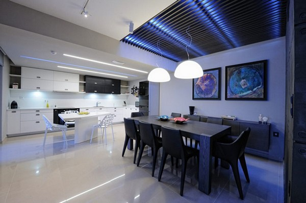 led kitchen lighting idea