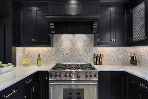 modern wallpaper kitchen