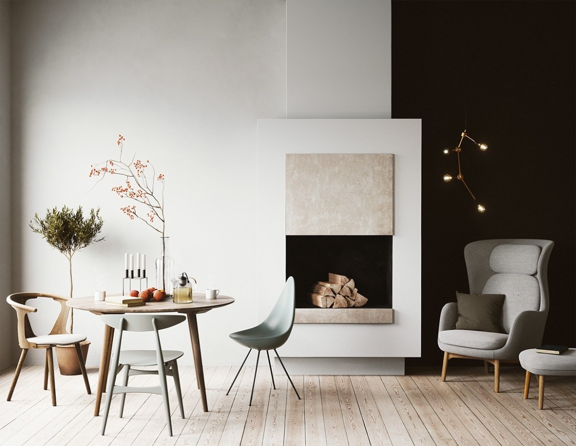 chic-scandinavian-dining-room-style