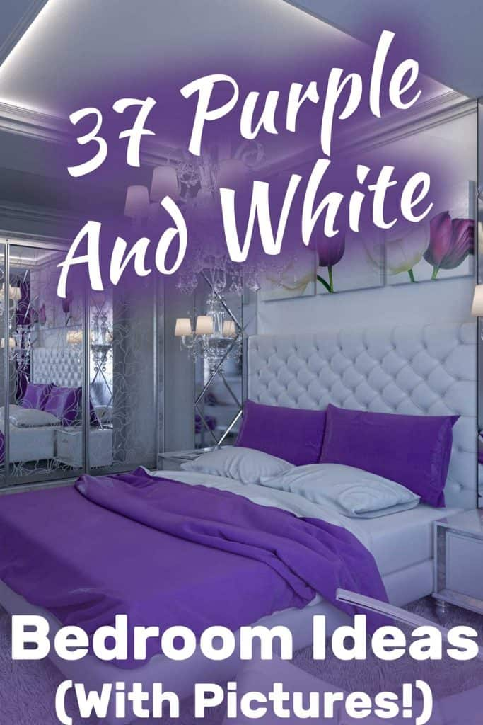 37 Purple And White Bedroom Ideas With Pictures Home Decor Bliss