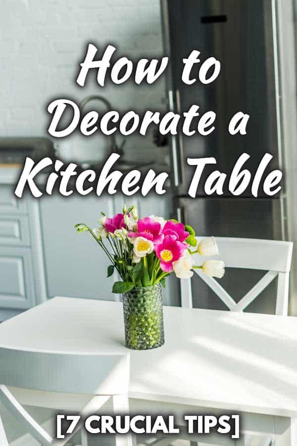 how to decorate a kitchen table 7