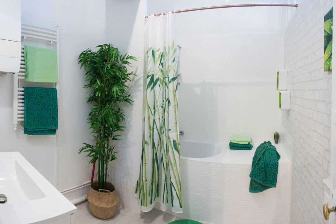 15 green leaf shower curtains that will