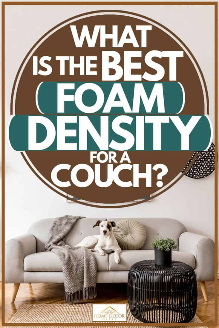 best foam density for a couch