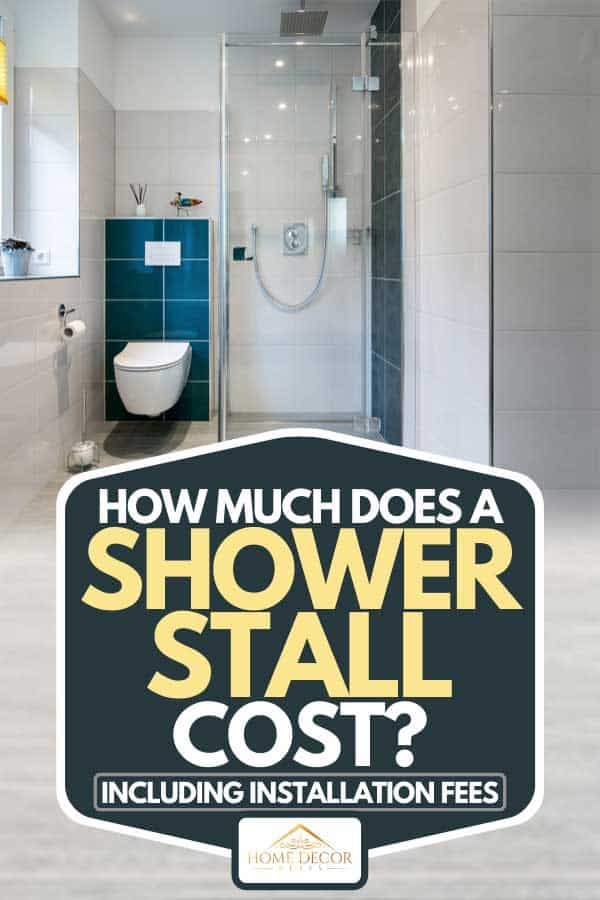 how much does a shower stall cost inc