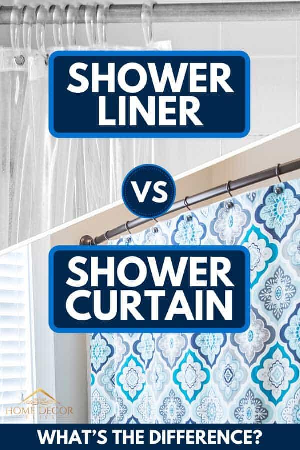 shower liner vs shower curtain what s