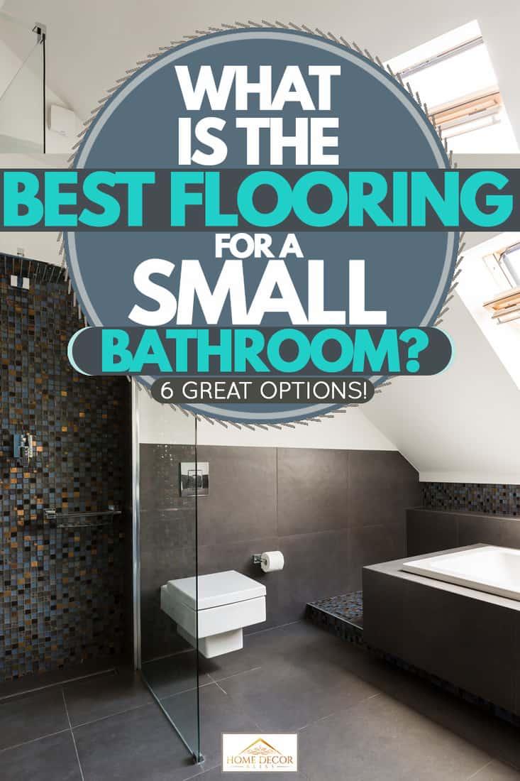 best flooring for a small bathroom