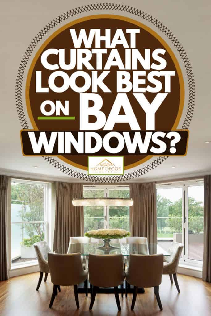 what curtains look best on bay windows